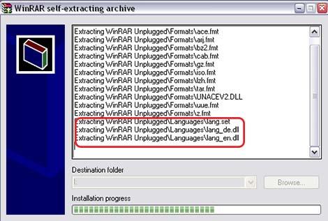 Как сменить язык в WinRAR